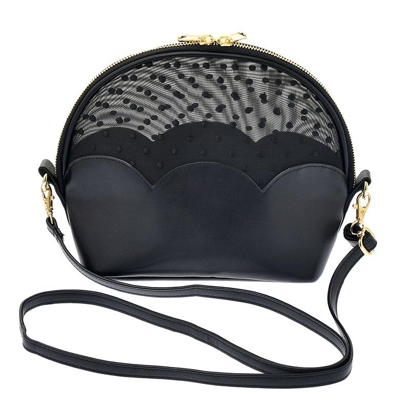 ミニー ショルダーバッグ シースルー ドット Shoulder&Body Bag