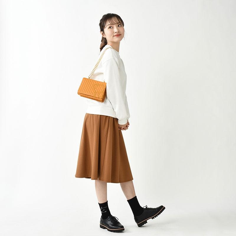 プーさん ショルダーバッグ キルティング Shoulder&Body Bag