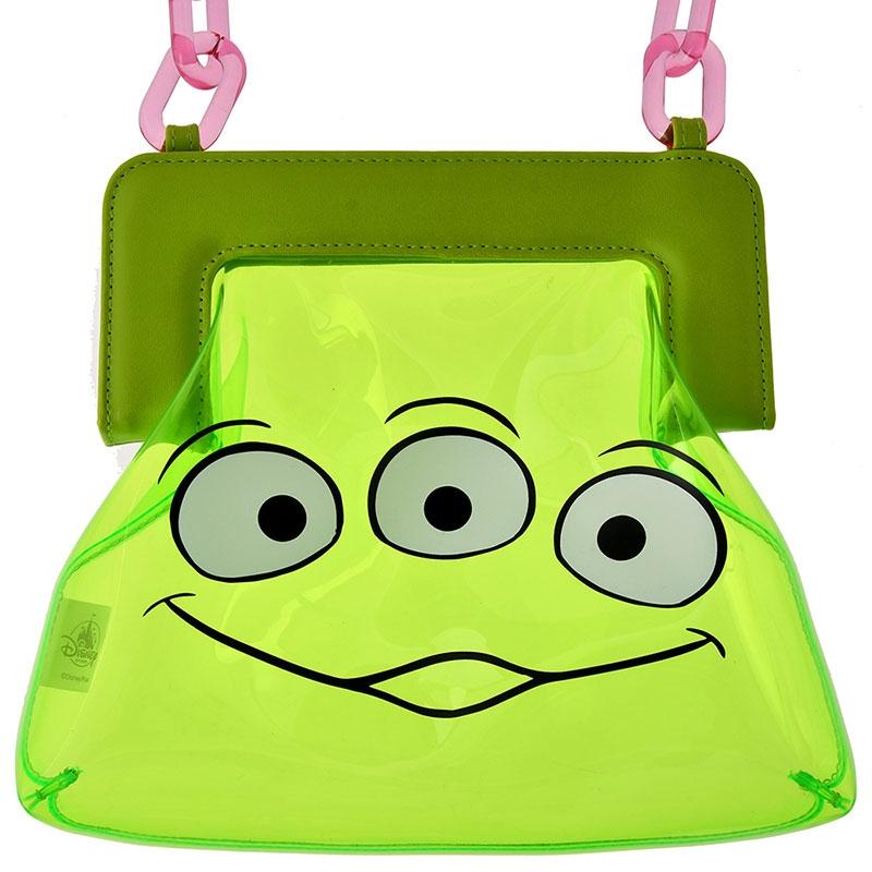 リトル・グリーン・メン/エイリアン ショルダーバッグ PVC Shoulder&Body Bag