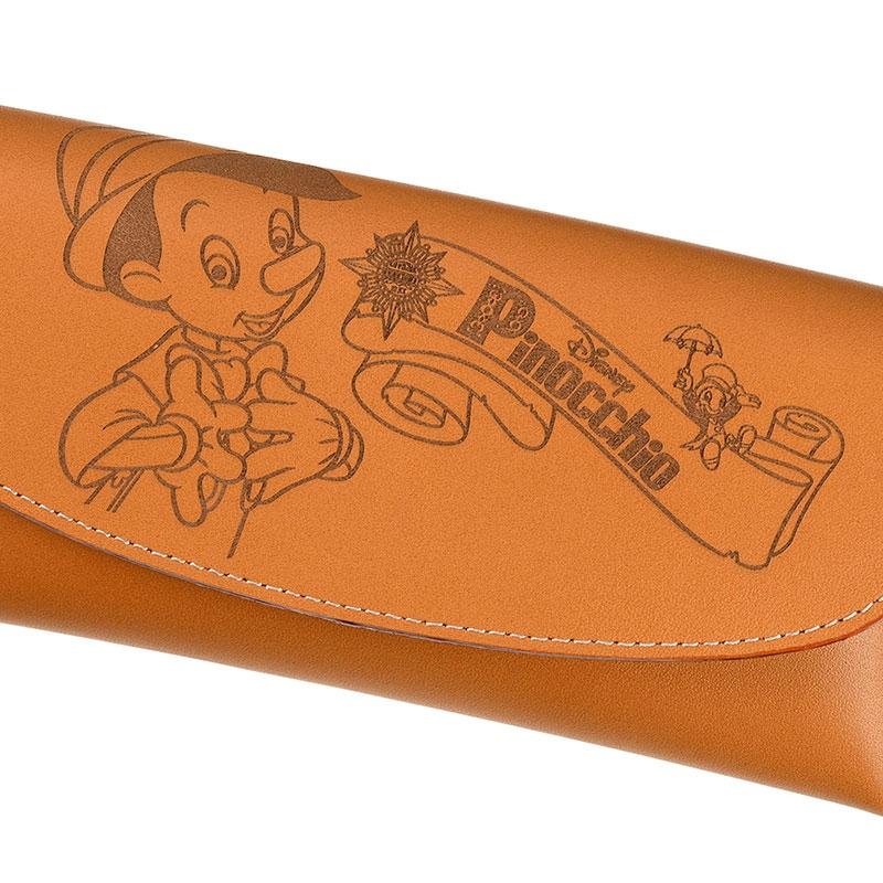 ピノキオ&ジミニー・クリケット メガネケース Pinocchio 80th