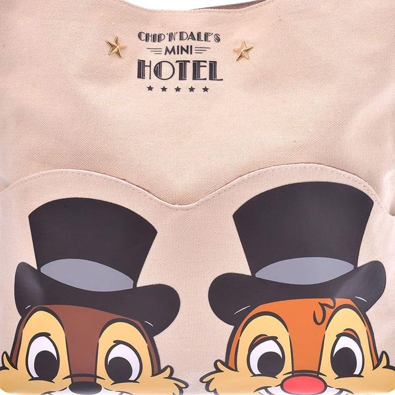 チップ&デール トートバッグ Chip&Dale Mini Hotel