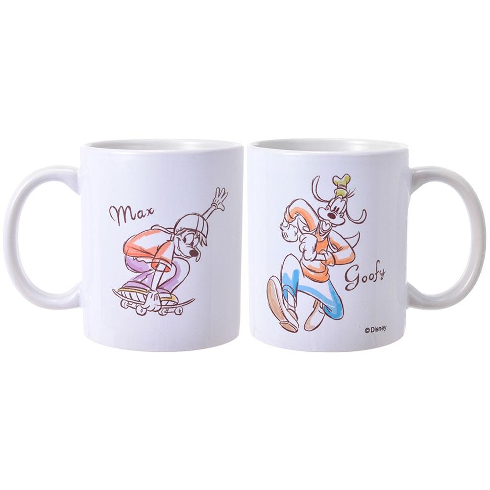 【D-Made】マグカップ グーフィー&マックス