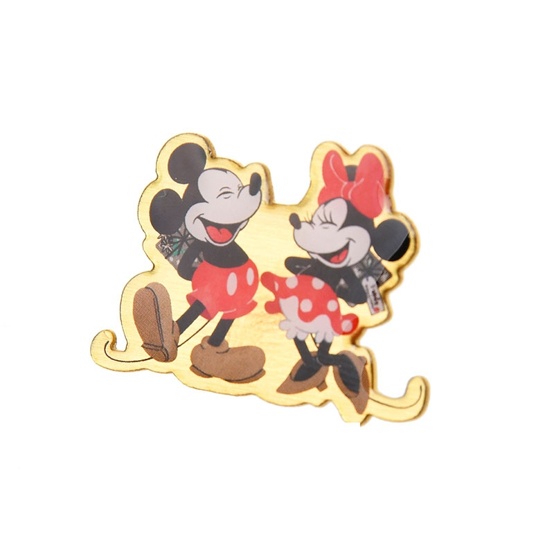 ミッキー&ミニー ハンドクリーム・手鏡・ピンバッジ ホリデー