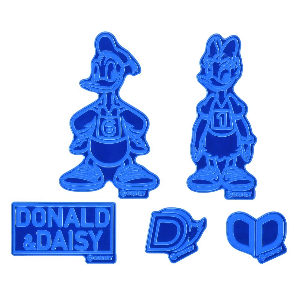ドナルド&デイジー シール・ステッカー リフレクター Mickeys Athlete Club