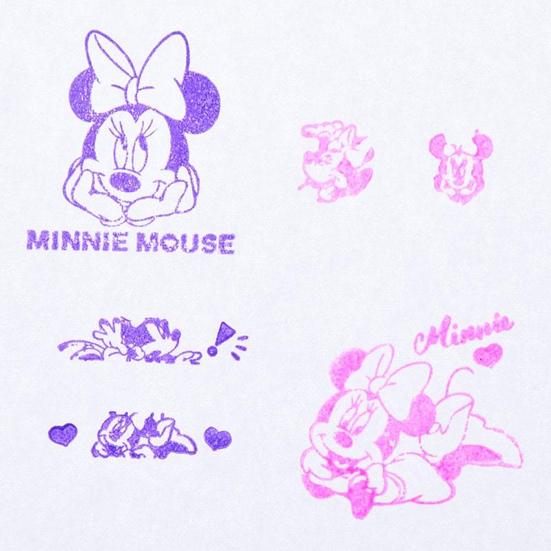 ミニー スタンプ セット PINK
