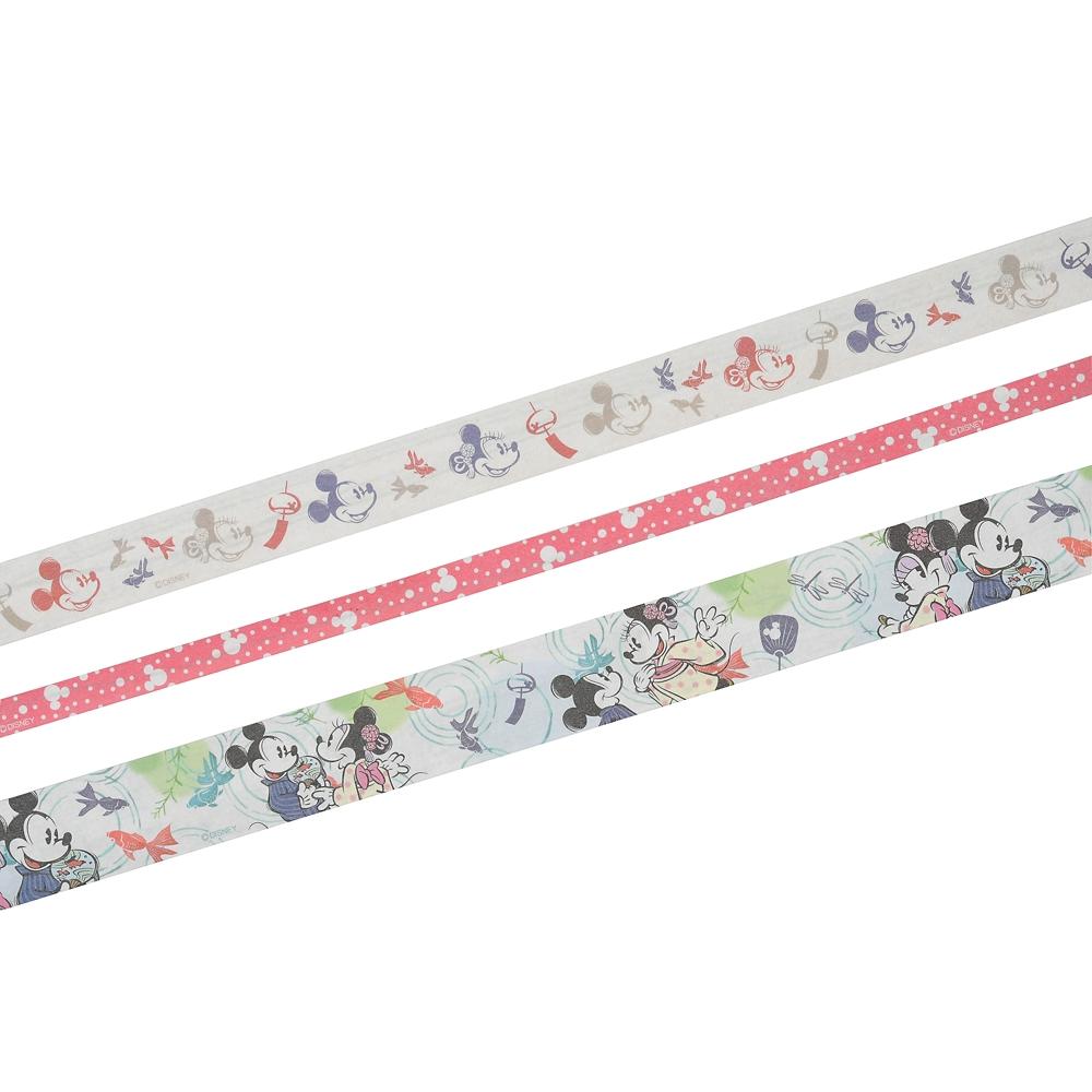 ミッキー&ミニー デコレーションテープ 金魚 Japan Culture