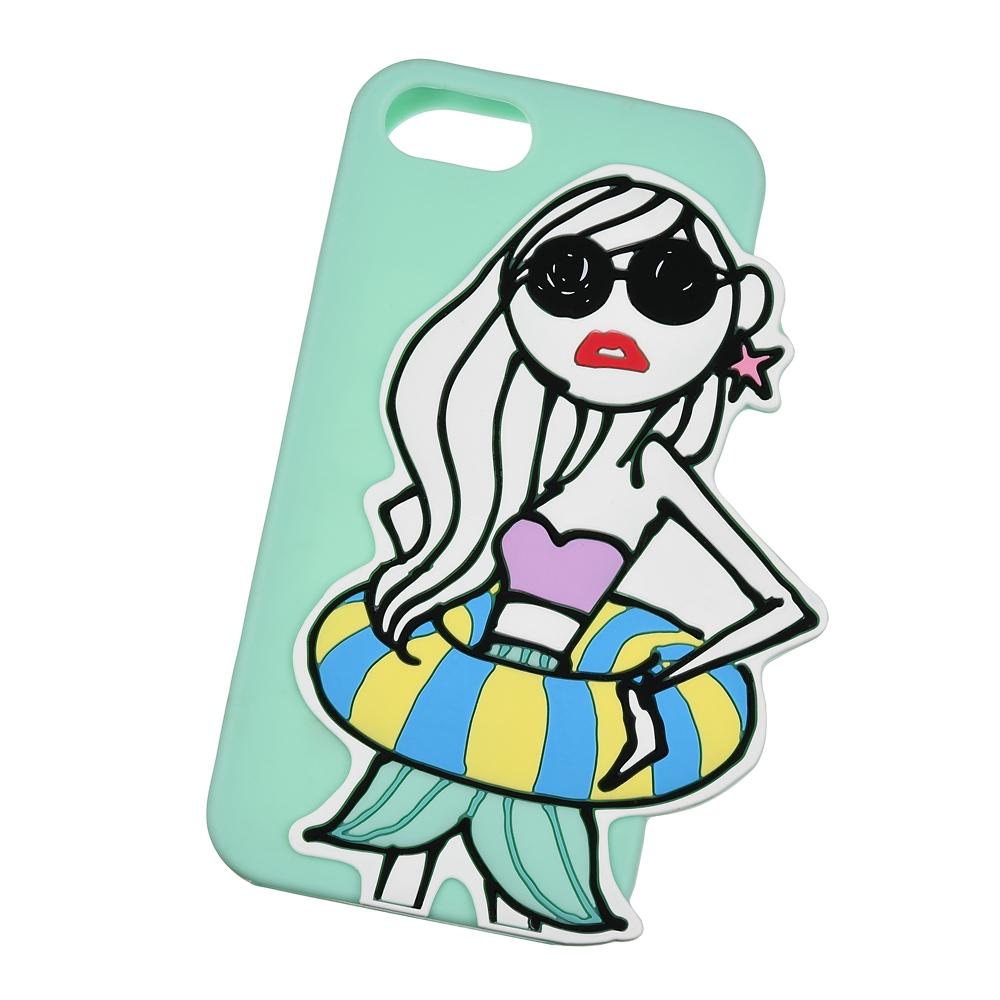 【アウトレット】iPhone 6/6s/7/8用スマホケース・カバー グリーン Daichi Miura Princess