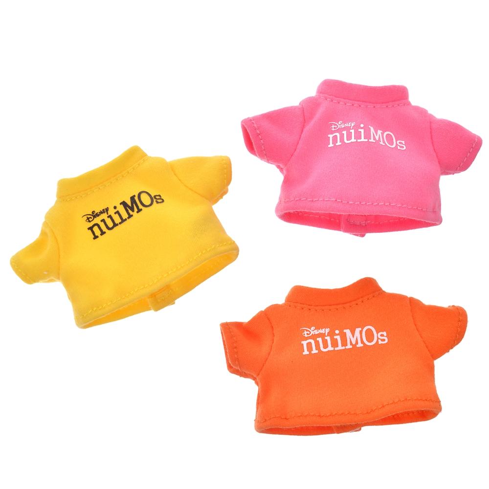 nuiMOs シークレットぬいぐるみ専用コスチューム ロゴTシャツ