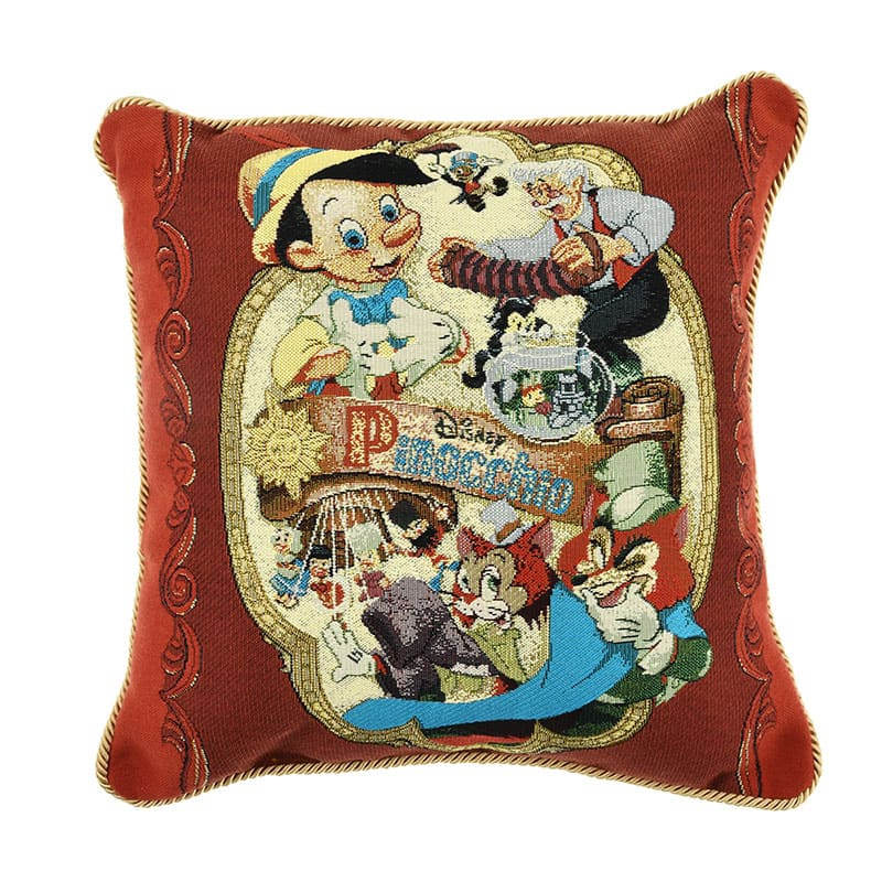 ピノキオ クッション Pinocchio 80th