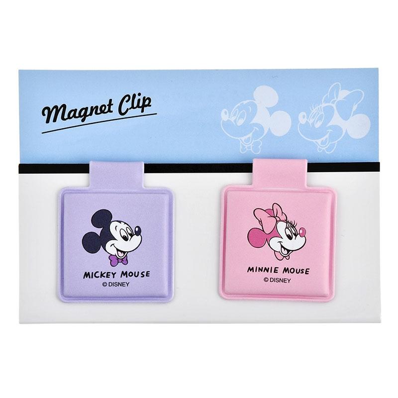 ミッキー&ミニー マグネットクリップ Colors