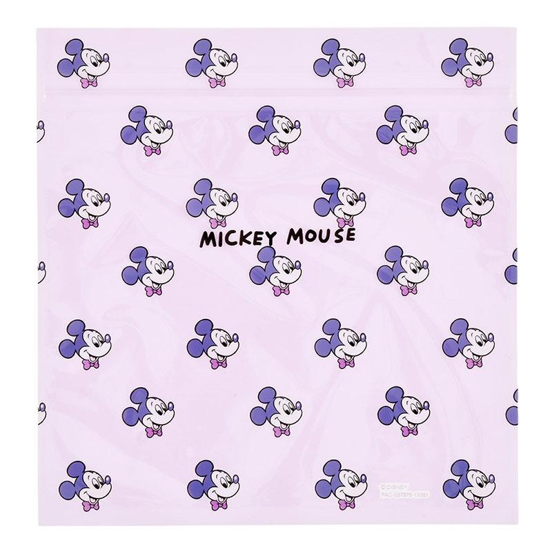 ミッキー ジッパーバッグ Colors