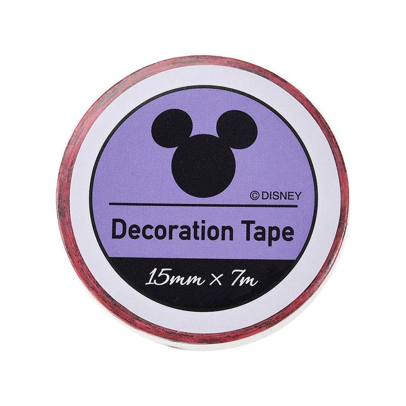 ミニー、デイジー、クラリス デコレーションテープ いちご
