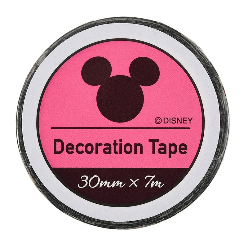 【アウトレット】ミッキー デコレーションテープ ブラック