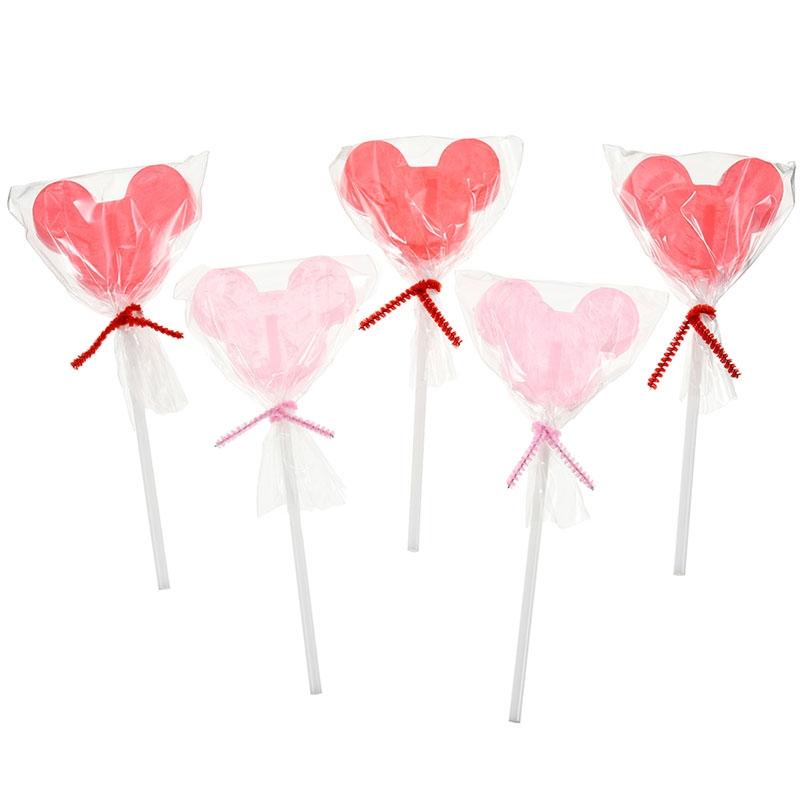 ミッキー&ミニー キャンディー スティック Poppin Pink