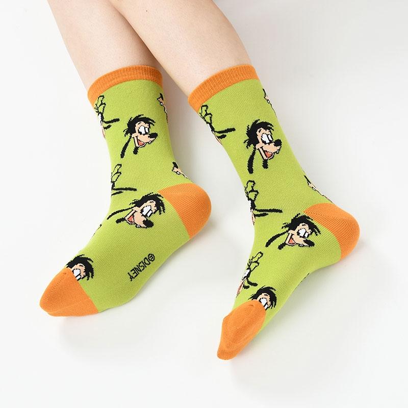 グーフィー&マックス 靴下 フェイス