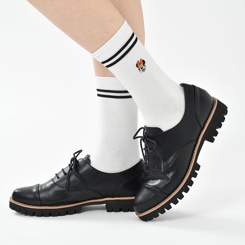 ミニー 靴下 ライン