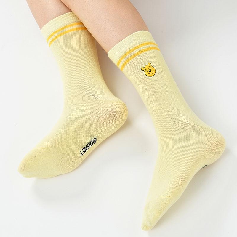 【アウトレット】プーさん 靴下 ライン