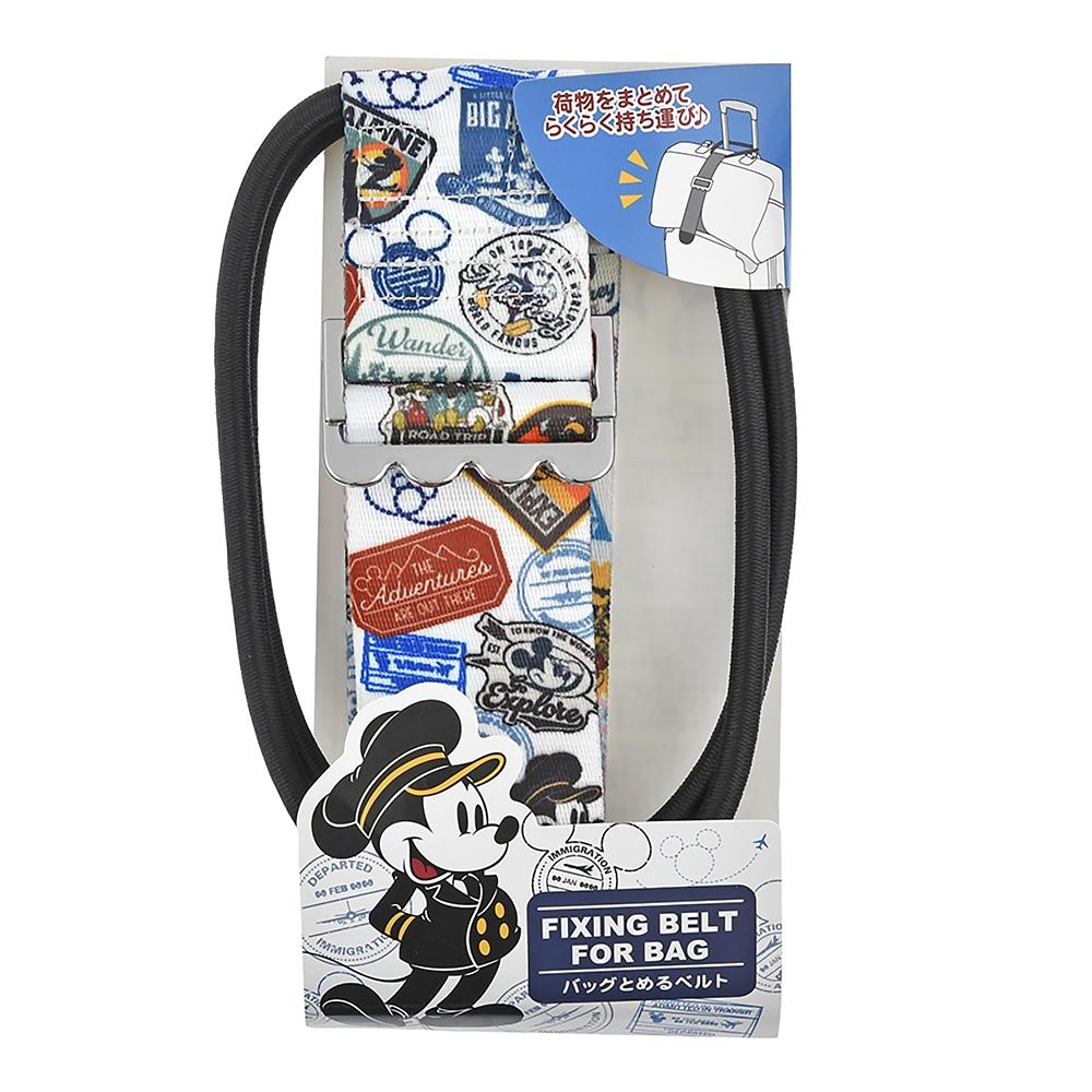 ミッキー&ミニー 固定ベルト スーツケース用 Travel with Mickey