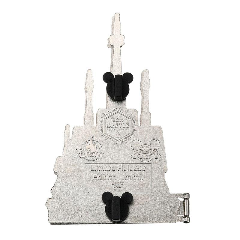 アナと雪の女王 ピンバッジ アレンデール城 Disney Castle Collection