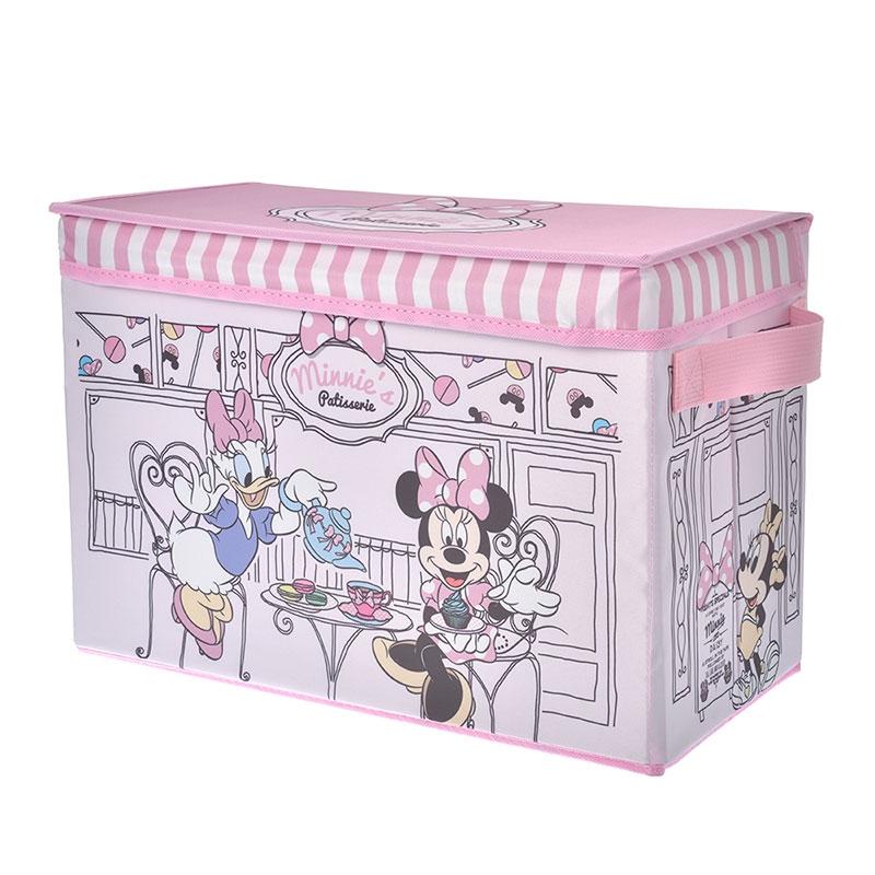 ミッキー&フレンズ 収納ボックス PINK