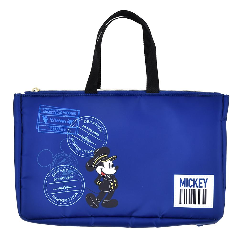 ミッキー バッグインバッグ(L) Travel with Mickey