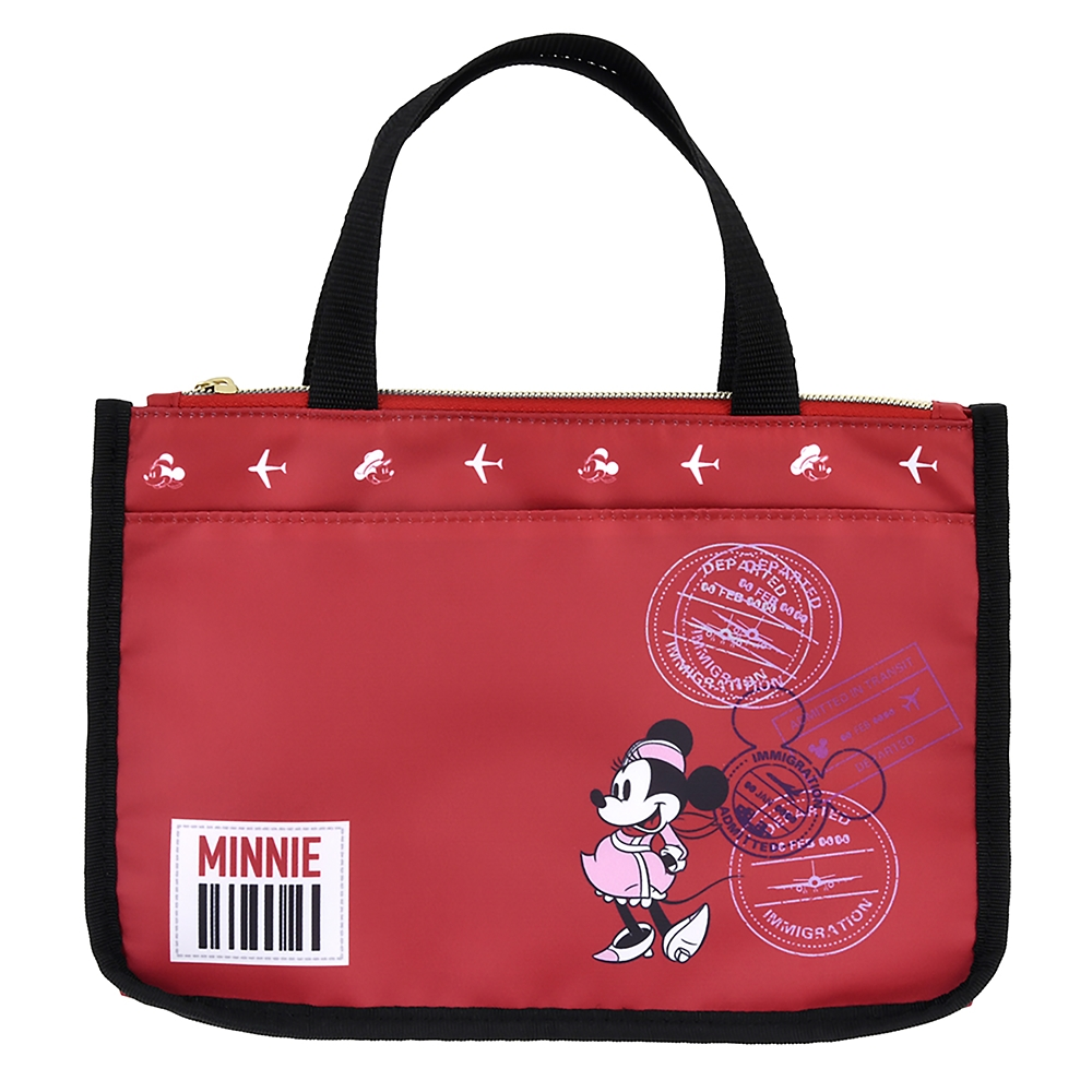 ミニー バッグインバッグ(M) Travel with Mickey