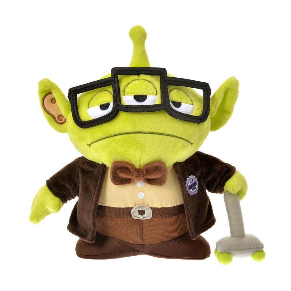 公式 ショップディズニー リトル グリーン メン エイリアン ぬいぐるみ カール フレドリクセンコスチュームエイリアン Toy Story 25th