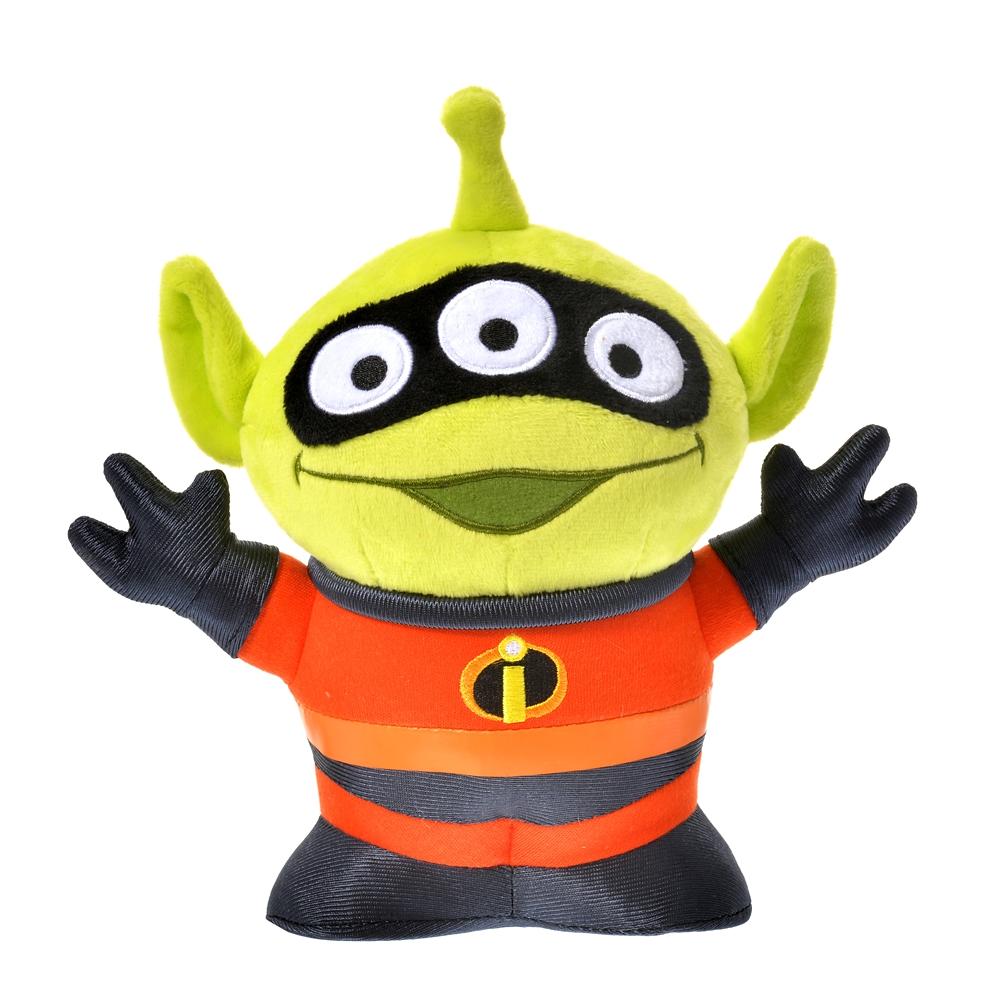 リトル・グリーン・メン/エイリアン ぬいぐるみ Mr.インクレディブルコスチュームエイリアン Toy Story 25th
