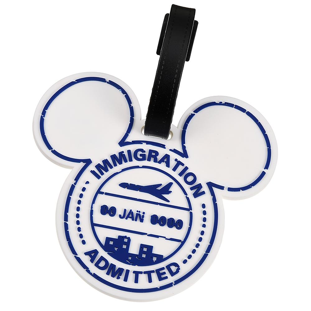 ミッキー ラゲッジタグ Travel with Mickey