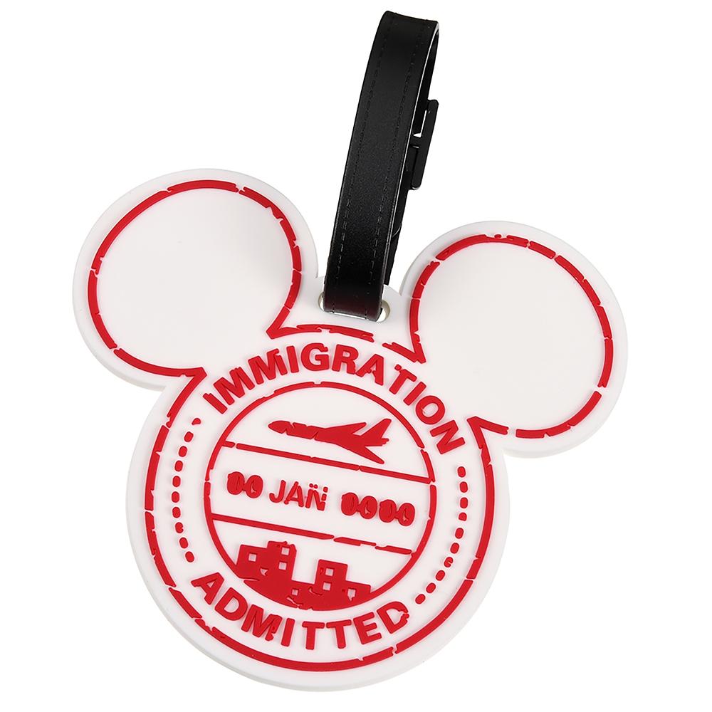 ミニー ラゲッジタグ Travel with Mickey