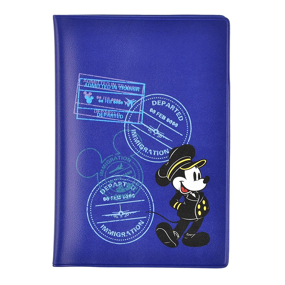 ミッキー パスポートカバー Travel with Mickey
