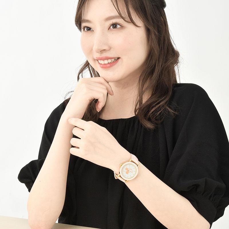 ミッキー 腕時計・ウォッチ ピンク Oshigoto