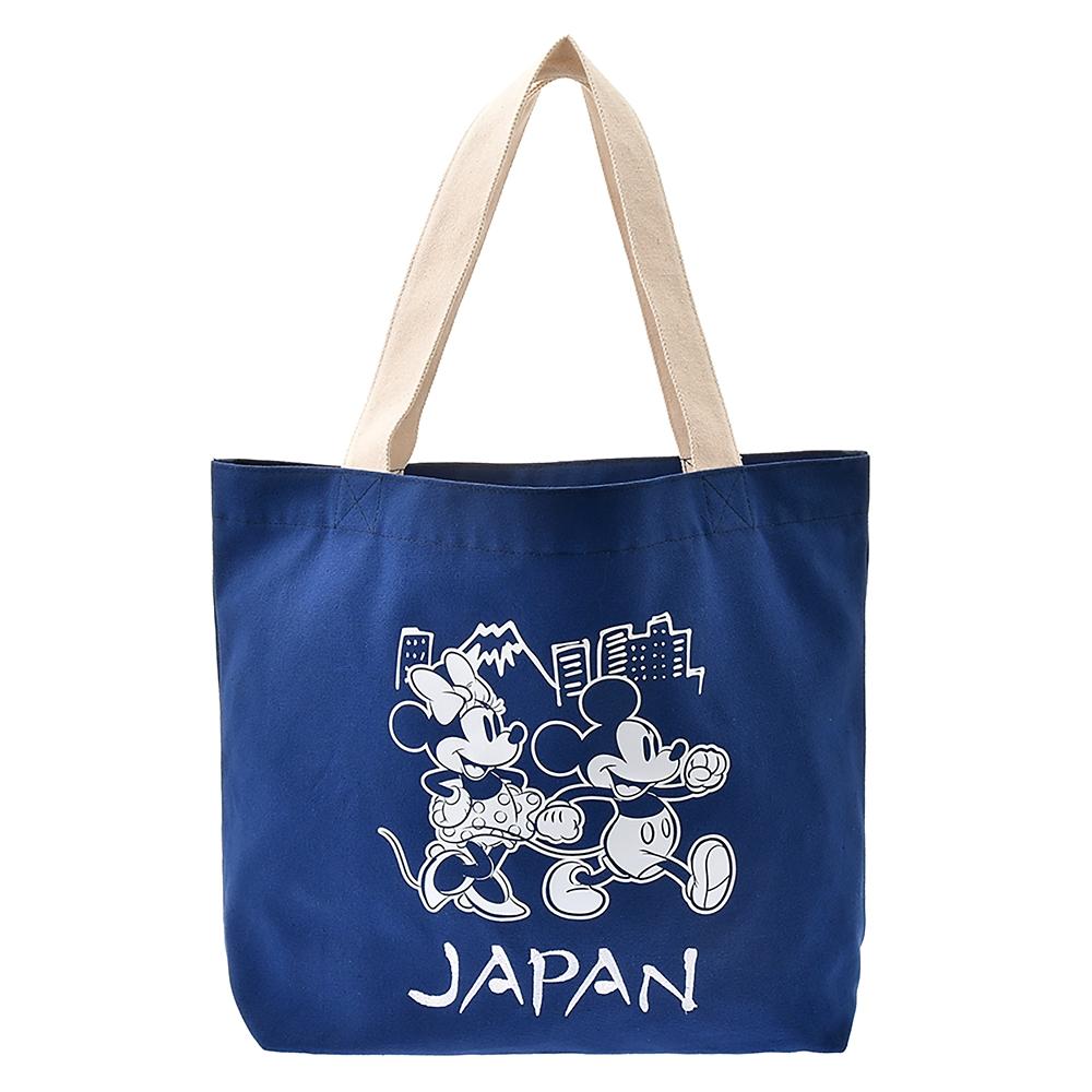 ミッキー&ミニー トートバッグ JAPAN