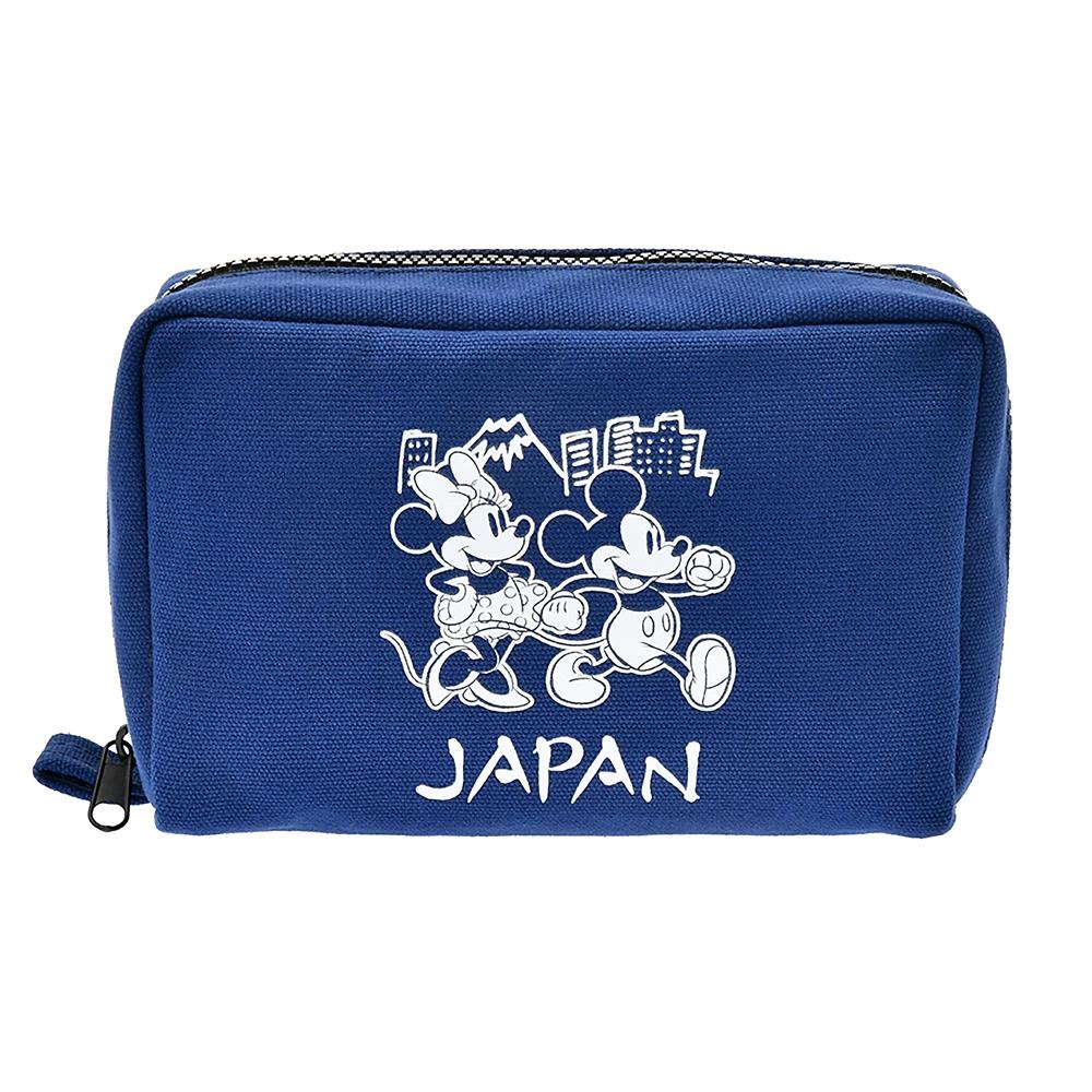 ミッキー&ミニー ポーチ JAPAN