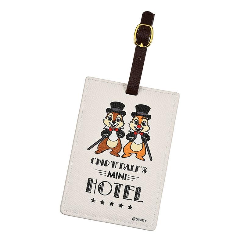 チップ&デール ラゲッジタグ Chip&Dale Mini Hotel