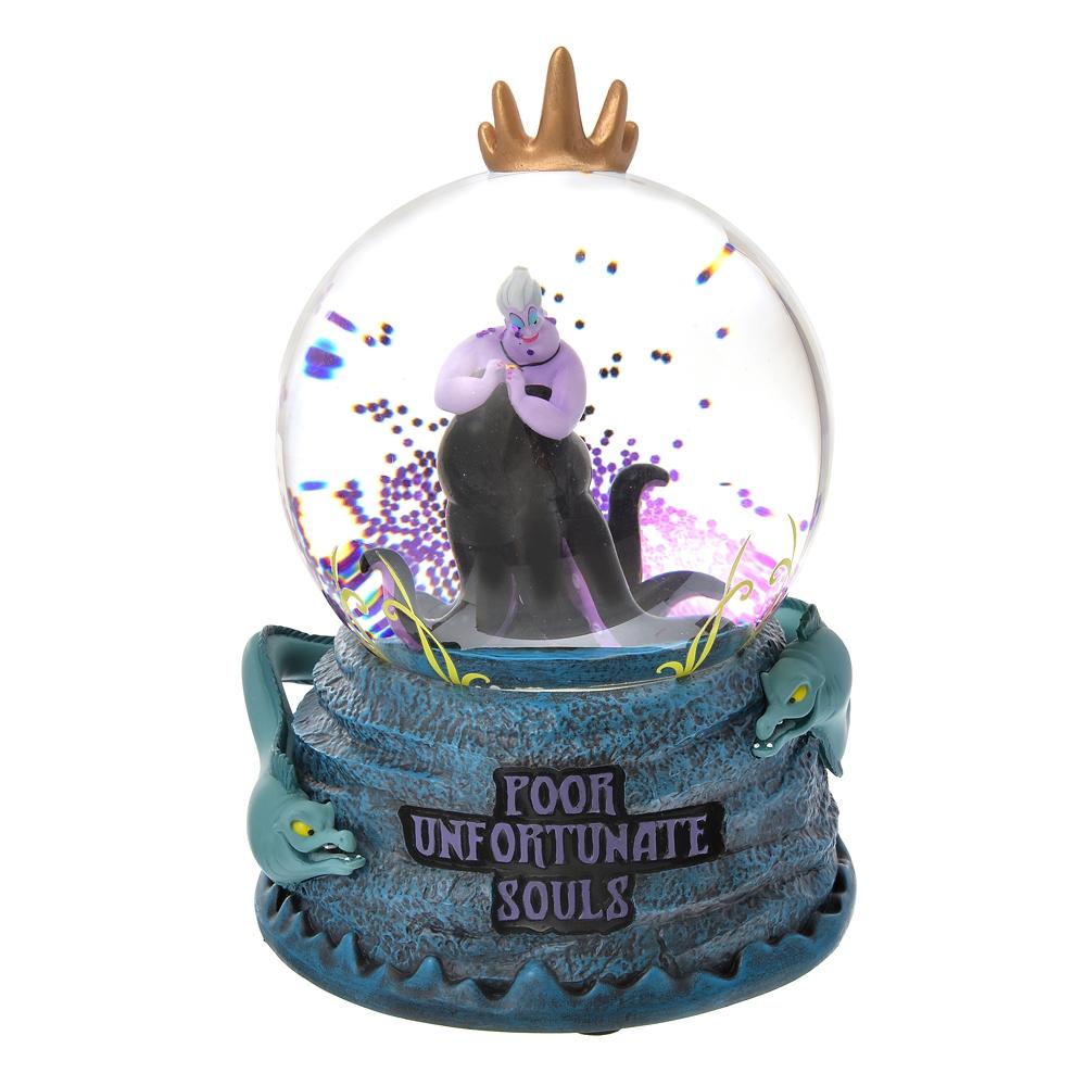 アースラ スノードーム Disney Villains 2021