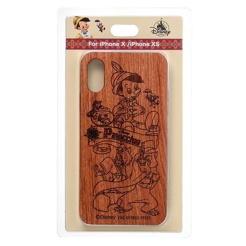 ピノキオ iPhone X/XS用スマホケース・カバー Pinocchio 80th