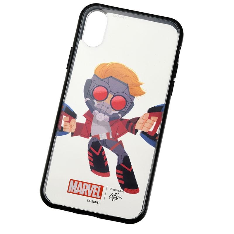 マーベル スター・ロード、ロケット、ベビー・グルート iPhone X/XS用スマホケース・カバー セット 着せ替え グリヒル