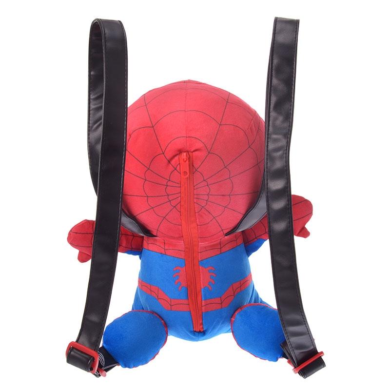 【アウトレット】マーベル スパイダーマン リュックサック・バックパック ぬいぐるみ風