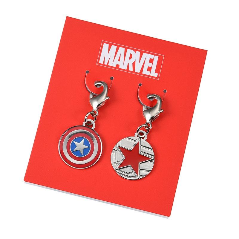 マーベル キャプテン・アメリカ&バッキー チャーム Icon Collection