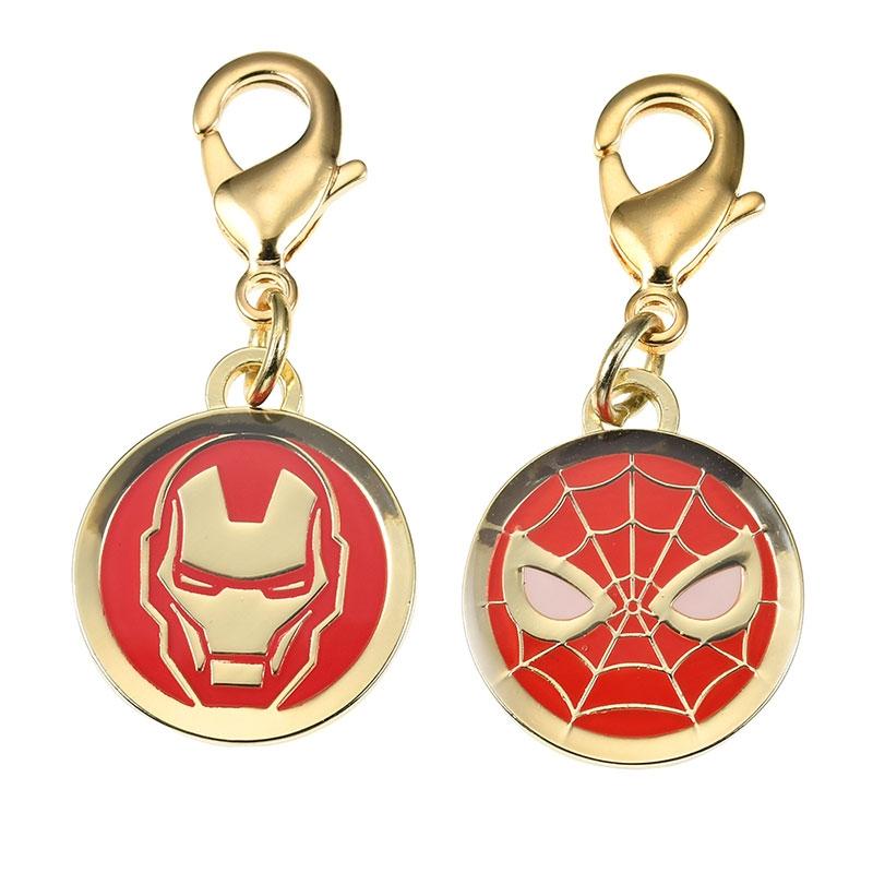 マーベル アイアンマン&スパイダーマン チャーム Icon Collection