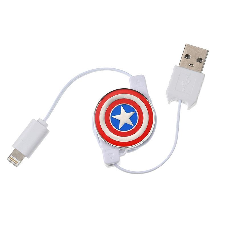 マーベル キャプテン・アメリカ iPhone用USBコード Icon Collection