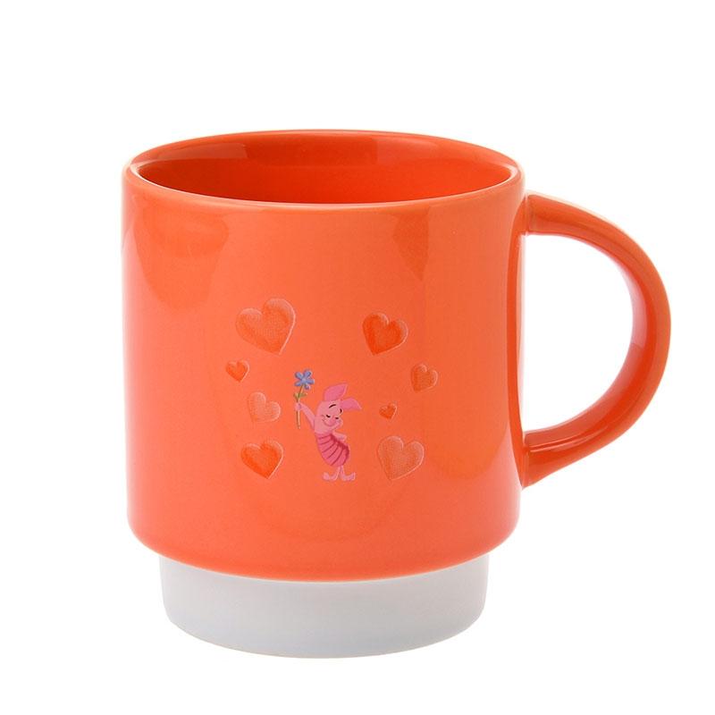 プーさん&ピグレット マグカップ Disney Valentine 2020