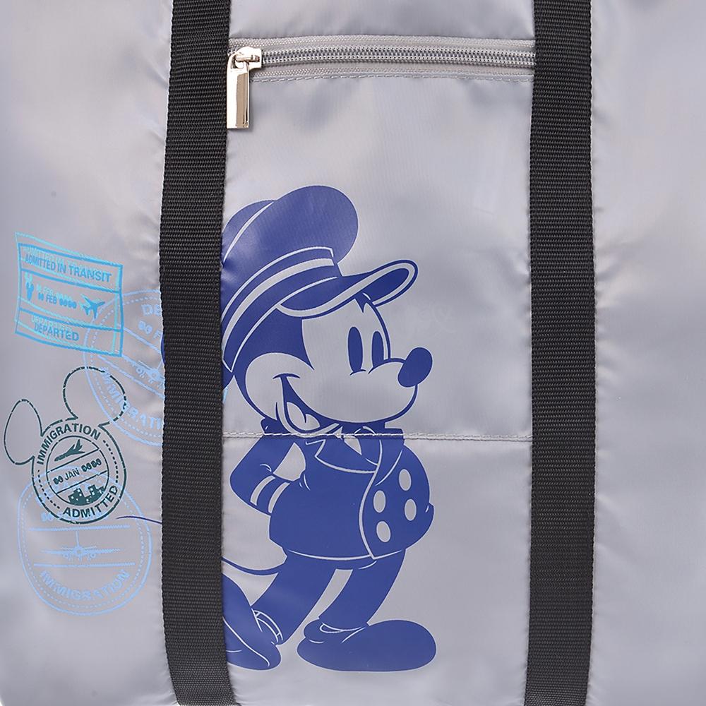 ミッキー トートバッグ 折りたたみ式 Travel with Mickey