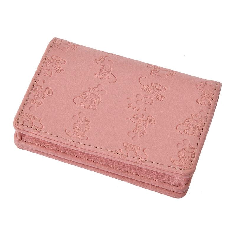 ミッキー カードケース・名刺入れ ピンク Oshigoto