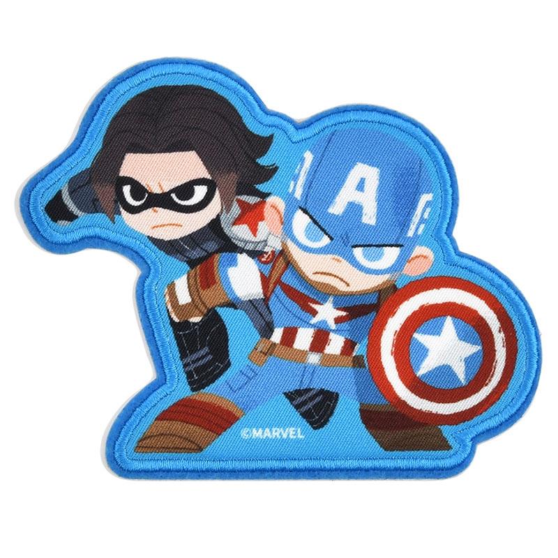 マーベル キャプテン・アメリカ&バッキー シール・ステッカー グリヒル