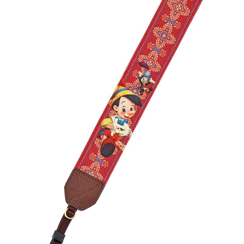 ピノキオ カメラストラップ Pinocchio 80th