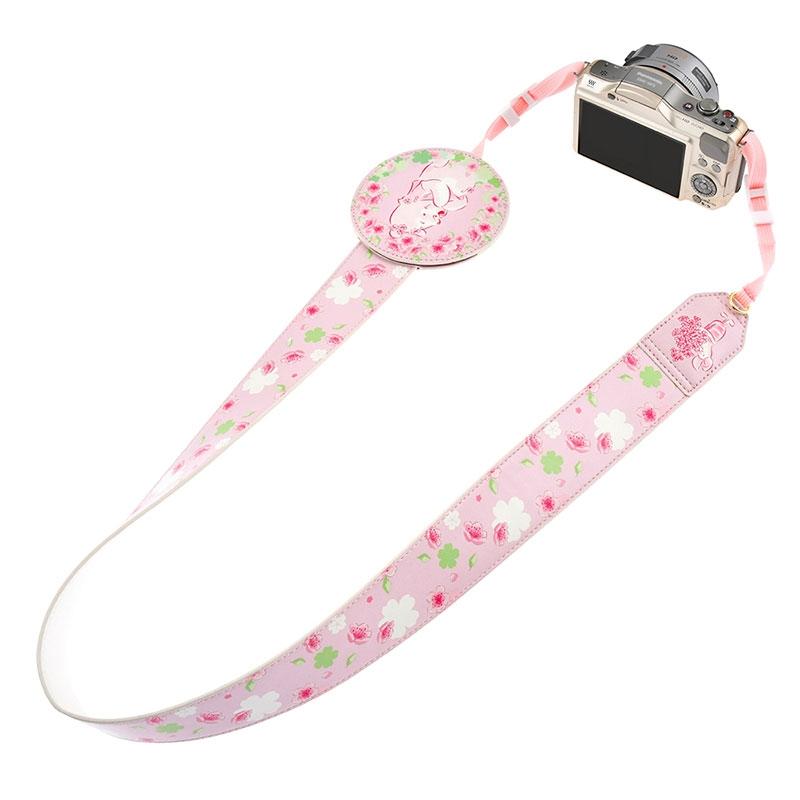 プーさん&ピグレット カメラストラップ Sakura 2020
