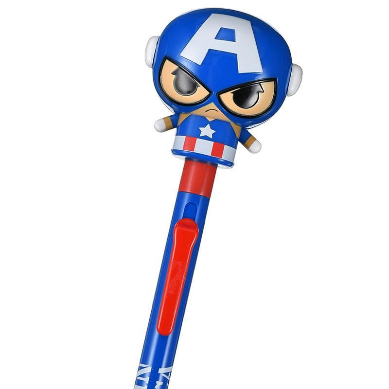 マーベル キャプテン・アメリカ ボールペン ぴょこっ