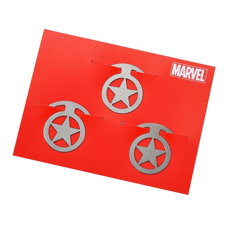 マーベル キャプテン・アメリカ クリップ フラット Icon Collection